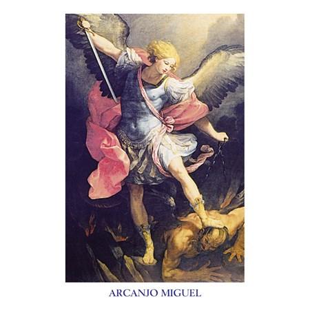 ADESIVO Arcanjo Miguel - Matando o Dragão