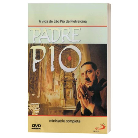 DVD Padre Pio - A Vida de São Pio de Pietrelcina