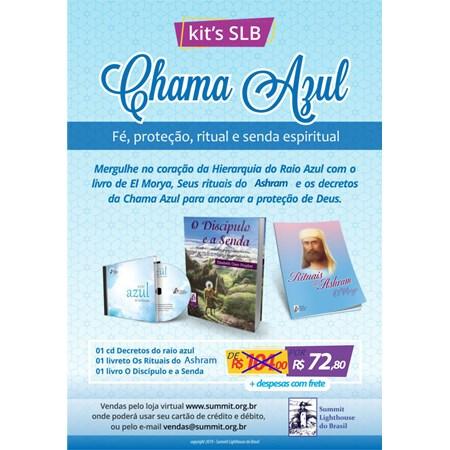 Kit's Chama Azul - Fé, proteção, ritual e senda espiritual!