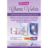 Kit's Chama Violeta - Transmutação, alquimia, elevação da alma!